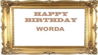 Worda   Birthday Postcards & Postales - Happy Birthday