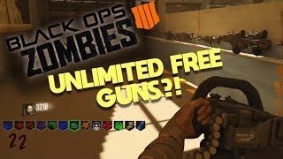 CALL OF DUTY ZOMBIES UNLIMITED FREE GUNS - CRAZIEST MAP EVER IN ZOMBIES w/Tewtiy