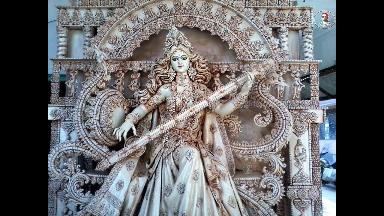 saraswati thakur saraswati murti saraswati puja