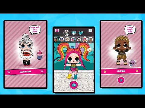 LOL Surprise Dolls Ball Pop WINTER DISCO Game Android IPad IPhone| #LOL Игра для Телефона и Планшета