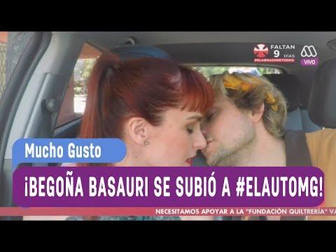 ¡Begoña Basauri se subió a #ElAutoMG con Joaquín! - Mucho gusto 2017