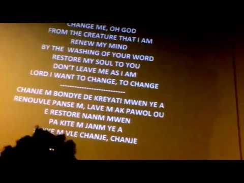 Change me oh God