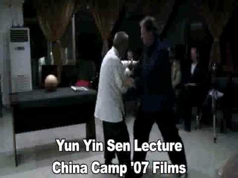 Yun Yin Sen Push Hands - Liu He Ba Fa at China Cam...