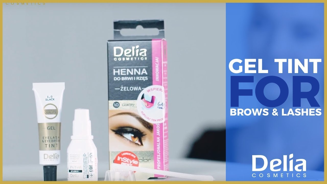 Delia Cosmetics Gel Tint For Brows And Lashes An Easy Way For