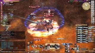 【新生FF14】 大迷宮バハムート 邂逅編5 (5層)竜騎士視点 クリアタイム約12分00秒