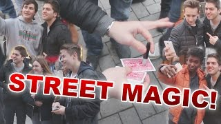 STREET MAGIC | ZUSCHAUER ZAUBERT!- Alexander Straub