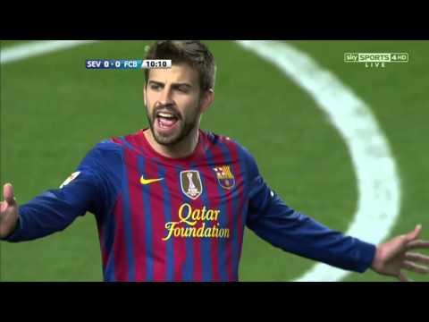 barcelona vs sevilla  la liga 17-03-2012 -720HD