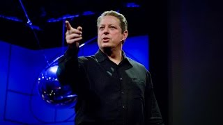 New thinking on the climate crisis | Al Gore(In Al Gore's brand-new slideshow (premiering exclusively on TED.com), he presents evidence that the pace of climate change may be even worse than ..., 2008-04-08T23:07:34.000Z)