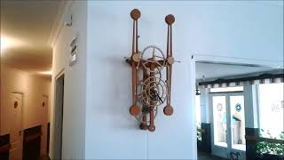 My first wooden mechanical clock