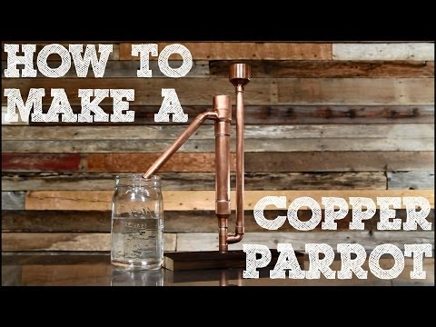 How to Make a Copper Proofing Parrot
