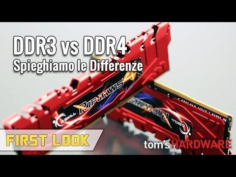 DDR4 vs DDR3 - Cosa cambia realmente?