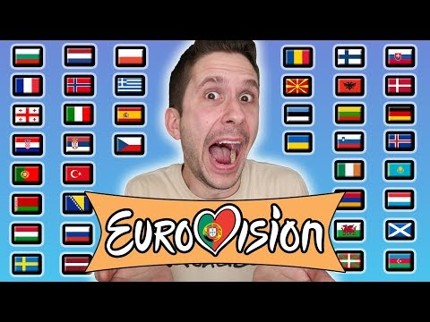 "How To Say ""EUROVISION SONG CONTEST!"" In 41 Languages Using Google Translate"