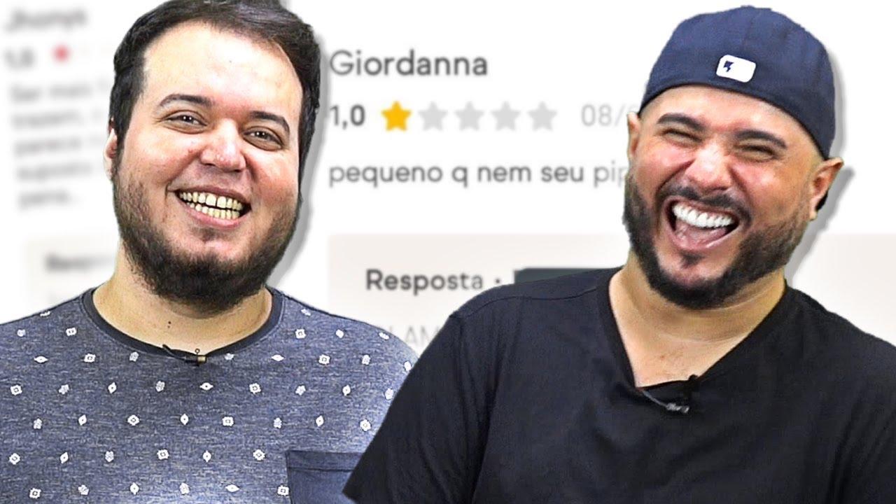 O AMOR E O ÓDIO NOS COMENTÁRIOS DO IFOOD com Jhonny Drumond