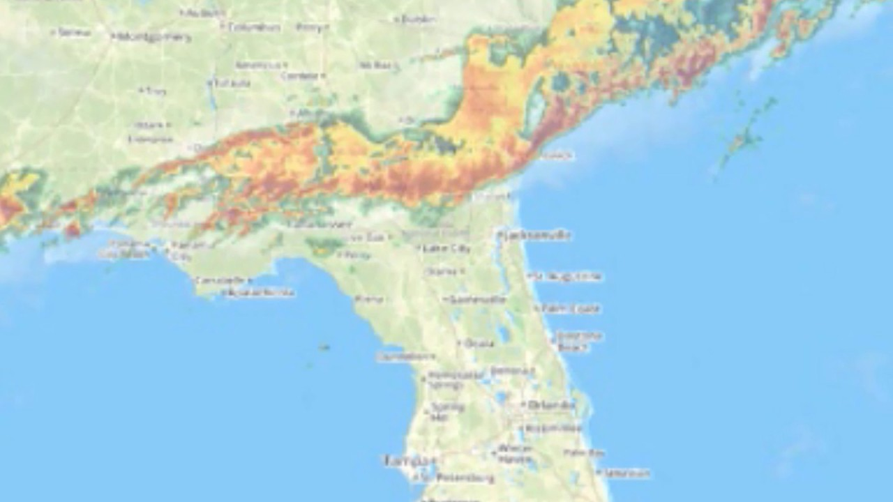 Florida Tornado Map.Florida Storm Live Tornado Updates Youtube