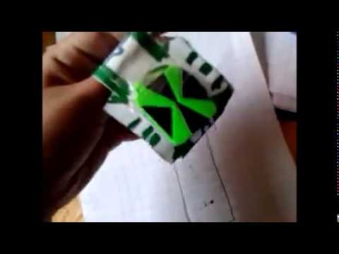 Montre ben 10 en papier youtube - Montre benten ...