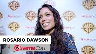 Unforgettable | Rosario Dawson Interview | CinemaCon 2017