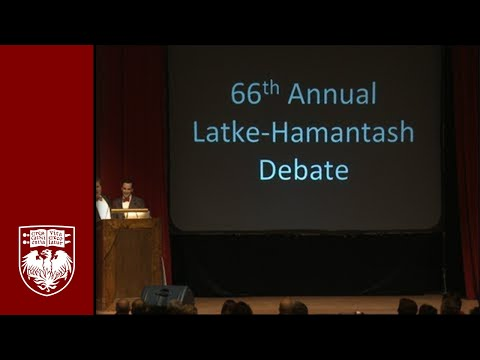 The 66th Annual Latke Hamantash Debate
