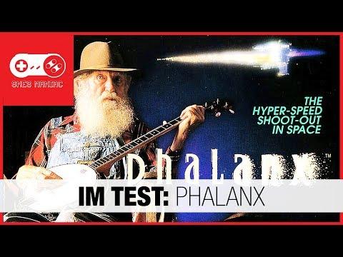 IM TEST: Phalanx [Super Nintendo SNES Review - german/deutsch]