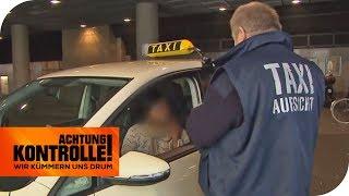 Taxifahrerin ohne Taxischein - Wie reagiert die Aufsicht? | Achtung Kontrolle | kabel eins