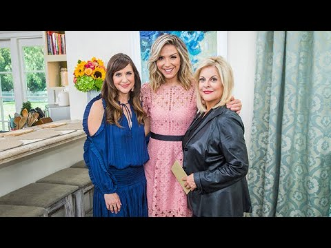 Kellie Martin and Nancy Grace visit  Home & Family