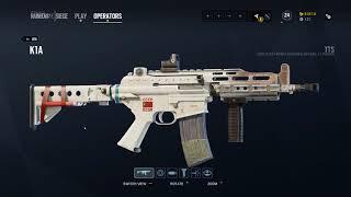 Rainbow Six Siege : Vigil Operation Chimera Uniform, Headgear and Weapon Skins