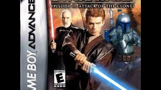 Star Wars - Episode II: Attack of the Clones (GBA) 2002 Full Playthrough (Полное прохождение)