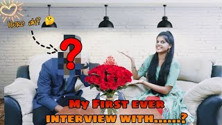 My First Interview with....?|*QnA with jenni*| TAMIL