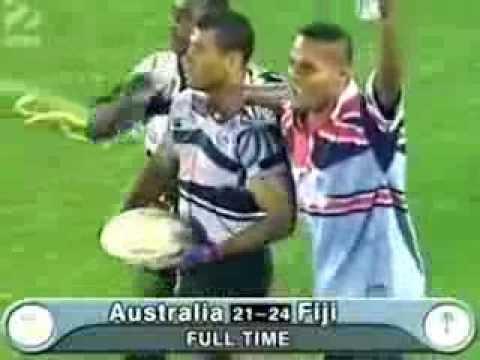 Brisbane 7s 2000 Final Fiji v Aus Serevi's last minute try