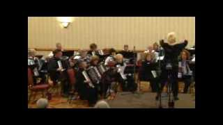 West Side Story Potpourri performed by the 2014 Mesa Accordion Event Orchestra