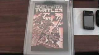 WOW RARE!!!AGE MUTANT NINJA TURTLES COMIC BOOKS #1-4
