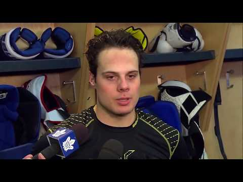 Maple Leafs Practice: Auston Matthews - January 9, 2018