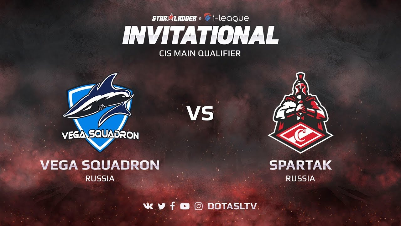 Vega Squadron против Spartak, Вторая карта, CIS квалификация SL i-League Invitational S3