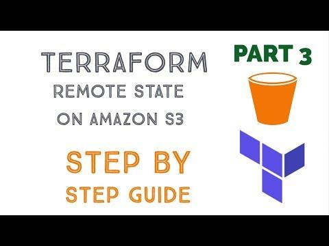 Terraform Tutorial Part 3: Terraform Remote State on Amazon