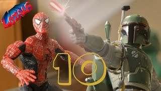 SPIDERMAN STOP MOTION Action Video PART 10