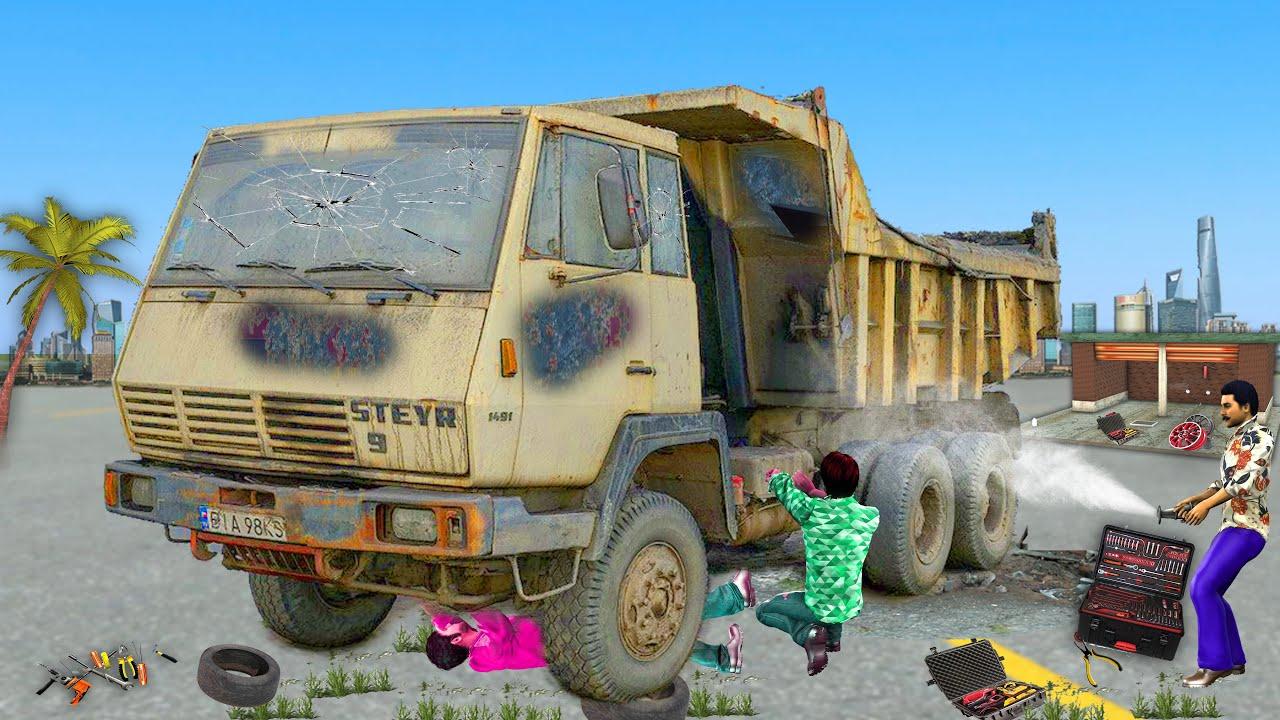 पुरानी डंप ट्रक बहाली Old Dump Truck Restoration Hindi Kahaniya हिंदी कहानियां Hindi StoriesinHindi