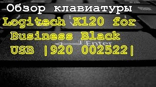 Обзор клавиатуры Logitech K120 for Business Black USB |920 002522|