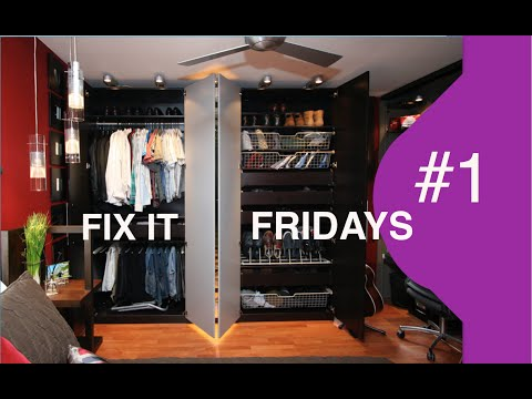 Interior Design | Ikea Bedroom Makeover | Fix It Fridays 1