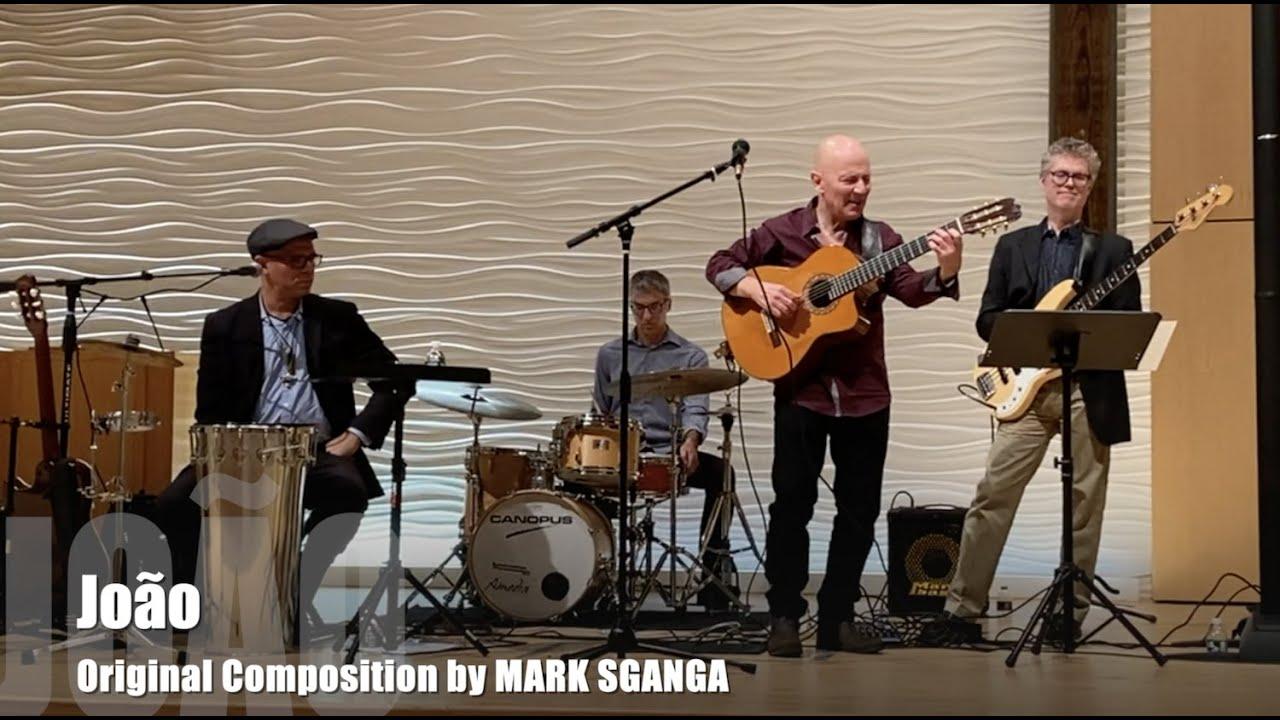 João (João Gilberto) / Mark Sganga Fingerstyle Guitar Composition