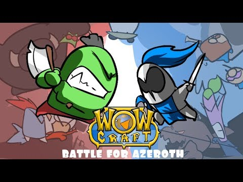 WoWcraft Battle for Azeroth (opening cinematic parody) [Ep 40]