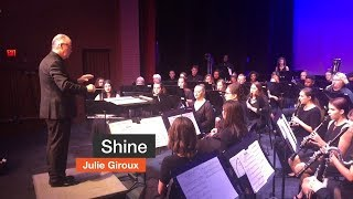 Shine Performed by the Pensacola State College Wind Ensemble - October 15, 2018