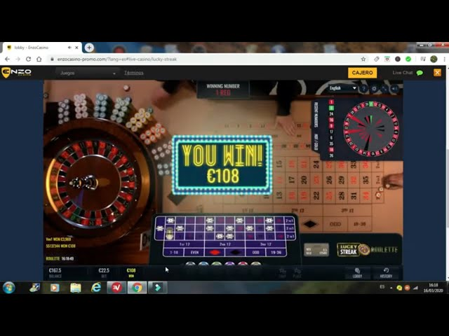 How to play at European Roulette / Short game section/Casino € 30 to € 150