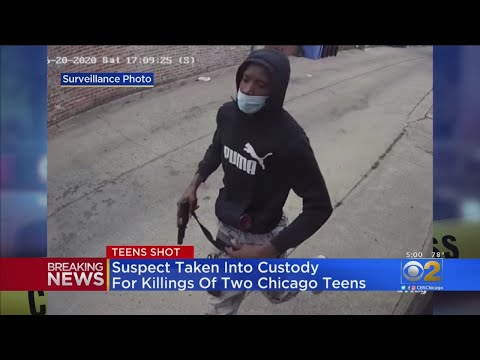 Suspect In Custody In Killing Of 2 Teens In South Chicago