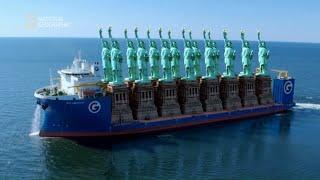 Pokład tego statku pomieściłby 16 statuy wolności [Superkonstrukcje]