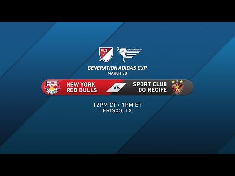 NY Red Bulls vs. Recife | Generation adidas 2015