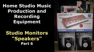 Best Studio Monitors and Speakers for your Recording Studio or Music Production