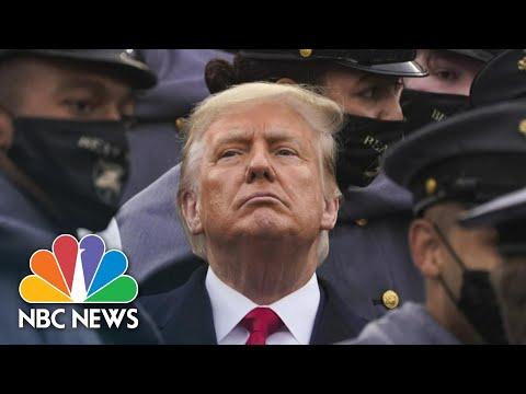 Looking Back At The Defining Falsehoods Of Trump's Presidency | NBC News NOW