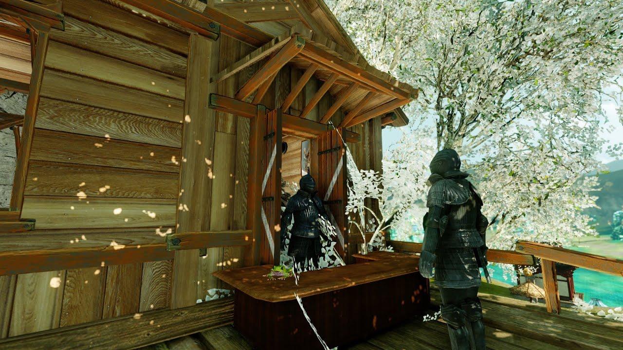 ArcheAge MMORPG Housing - Giraffy's Treehouse - YouTube