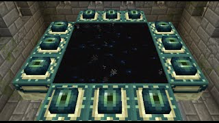 Minecraft: how to make a portal to ender dragon - (minecraft portal to ender dragon)
