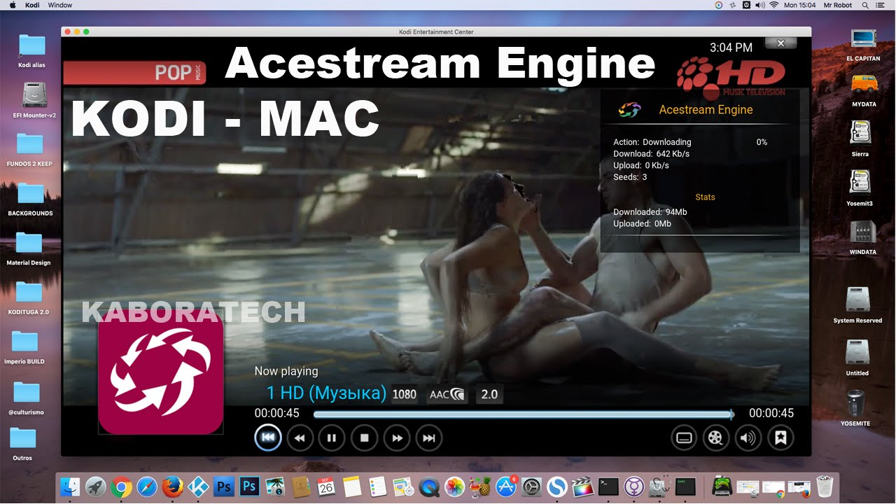Install Acestream on MAC OSX