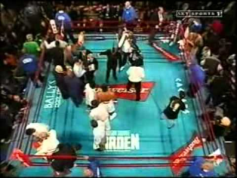 Lennox Lewis v Michael Grant – Full fight, brutal KO!!!!